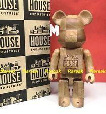 Medicom Be@rbrick Karimoku Wood House Industries Chess 400% wooden bearbrick