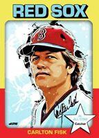 Carlton Fisk All Eras Sports 1975 Custom Card