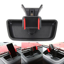 Car Cell Phone Holder Mount Rotatable Mount for Jeep Wrangler JK 12-17 X5L7