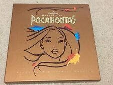 Walt Disney Masterpiece Pocahontas Deluxe Cav Laser Disc Edition Movie 3 Discs