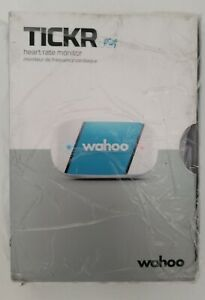 Wahoo WFBTHR02 TICKR Heart Rate Monitor for iPhone and Android. New Open Box