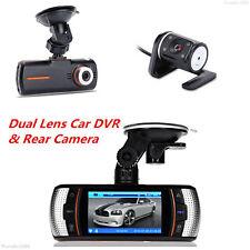 HD 1080P Dual Lens Car Vehicle DVR Camera Dash Cam Night Vision Video Recorder