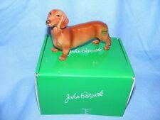 John Beswick Dog Dachshund Red JBD87 Boxed Figurine Present Gift