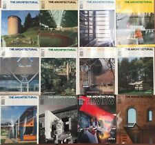 Architectural Review 1991.  All 12 issues Jan-Dec.