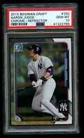 2015 Bowman Chrome Aaron Judge Rookie Refractor PSA 10 Gem Mint RC NY Yankees