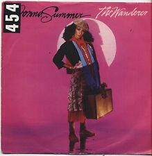 """DONNA SUMMER - The wanderer - VINYL 7"""" 45 LP ITALY 1980 VG+ COVER VG- CONDITION"""