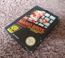 Nintendo Nes Game - Super Mario Bros. - Pal A uk complete in box CIB