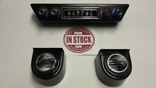GEN 2 VINTAGE AIR Rotary 4-Knob BUILT IN VENT CONTROLLER W/ UNDER DASH VENT KIT