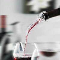 Red Wine Bottle Aerator Decanter Aerating Pourer Spout Good Bar Set M2V1
