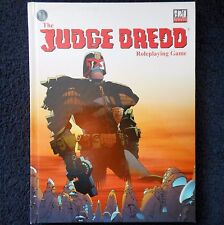 Judge Dredd 2000 AD Mongoose D20 Core Roleplaying Rule Book Rules Comic Book RPG