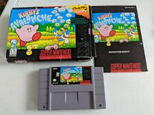 Kirby's Avalanche - Complete (Super Nintendo Entertainment System, 1995) Tested