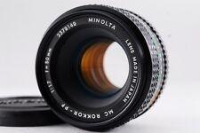 [Excellent+++]  MINOLTA  MC  ROKKOR - PF  F/1.7  50mm  from Japan  Free/S  #6046