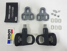Look Keo Easy Road Pedal (Black ) with Road Keo Cleat (Grey) 368g (No Box)