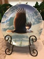 """The Bald Eagle""  Bradford Exchange Collectors Plate"