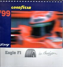 GA45 Calendario Good Year Racing 1999 F1 da scrivania