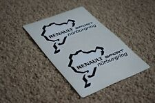 NURBURGRING Car Motorcycle Race Circuit Bike Decal Sticker BMW Renault 50mm