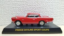 1/64 Kyosho NISSAN PRINCE SKYLINE SPORT COUPE RED diecast car model