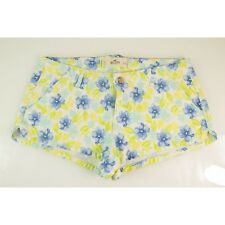 Hollister California Blue Lime Yellow Floral Shorts - SZ 9 / 29