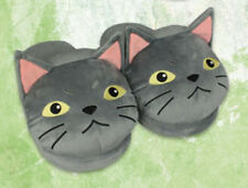 Mary and the Witch's Flower Gibb Gray Cat Slippers 25cm AMU-PRZ8818 US Seller