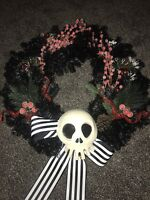 Disney's Nightmare Before Christmas Wreath