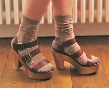 PIERRE HARDY pour GAP en Cuir Marron Sabots Sandales Chaussures UK 7 EU 40 non porté