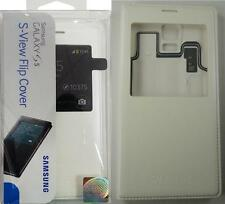 Samsung S-view Flip Cover Case for Galaxy S5 White