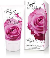 Crema mani e unghie Soft Rose,con acqua di rosa organica
