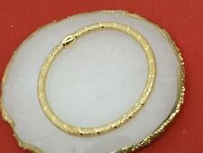 Genuine 18k Net Stretchable  Bangle 7 inches