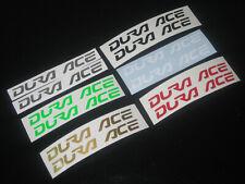 2 DURA ACE MTB ROAD Stickers Cycling Decals Forks Wheel Helmet Bike Frame Box