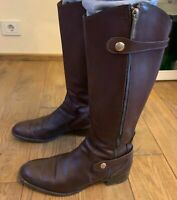 Fratelli Rossetti brown leather Women's Boots Size US 10.5 Made in Italy