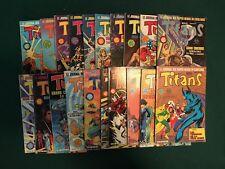 LOT TITANS - T70 à T89