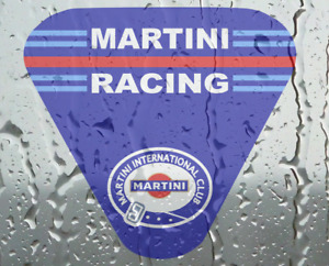 Le Mans Martini style Racing Club sticker 10 cm Motorsport AA227A inside glass