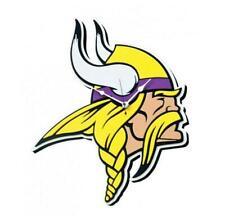 Vikings Du Minnesota 3D Fan Éponge Logo Horloge Murale, NFL Football, Relief Mur