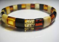 Elegante Baltischer Bernstein Armband 6.5 g. !!!
