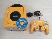 L612 Nintendo Gamecube Official Console Orange Japan GC w/controller x