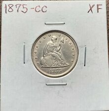 1875-CC Twenty Cent Piece Extremely Fine XF*Key Date*