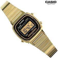 Casio LA670WGA-1D LA670WGA1 Classic Ladies Gold Stainless Steel Digital Watch