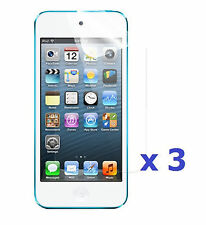 3 x Clear (Invisible) Screen Protector For Apple iPod Touch 5th Generation 2012