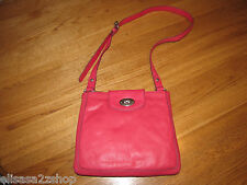 Fossil ZB5560675 Marlow Crossbody Flamingo Pink Leather purse NWT 158.00*^