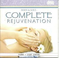 BODY AND SOUL COMPLETE REJUVENATION PEACEFUL PIANO RELAXATION SPA MUSIC CD