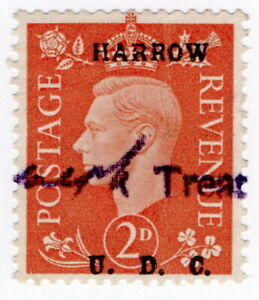 (I.B) George VI Commercial Overprint : Harrow Urban District Council