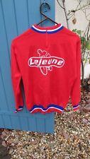 Maillot de vélo ancien Lejeune , vintage cycling jersey