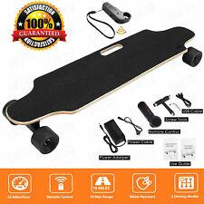 Elektro Skateboard 20km/h E-Komplettboard Elektrolongboard mit Funkfernbedienung