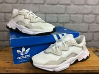 ADIDAS ORIGINALS OZWEEGO WHITE GREY TRAINERS LADIES CHILDRENS RRP £90 T