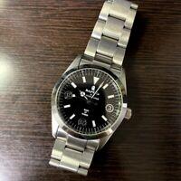 A BATHING APE BAPEX Explore Black Dial Automatic Watch Very Rare