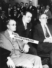 AL CAPONE & LAWYERS  COURT Photo 8x10 Glossy High Quality REPRINT Mafia Wall Art