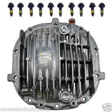 """OEM NEW 1985-2014 Mustang 8.8"""" Finned Rear Axle Cover Kit w/ Bolts & Valve Vent"""
