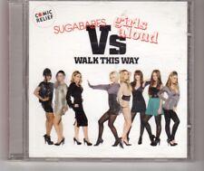 (HM963) Sugababes vs Girls Aloud, Walk This Way - 2007 CD