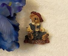 Bear Pin Formal Coffee Part Vl-Am Classic Pin Brooch F.O.B. Bearwear 2000 Teddy