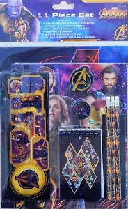 AVENGERS INFINITY WAR 11-Pc. Value Pack Back-to-School Stationery Supply Set $20